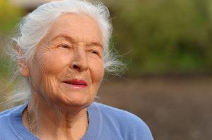 senior woman outside enjoying boca raton fl local community events for seniors